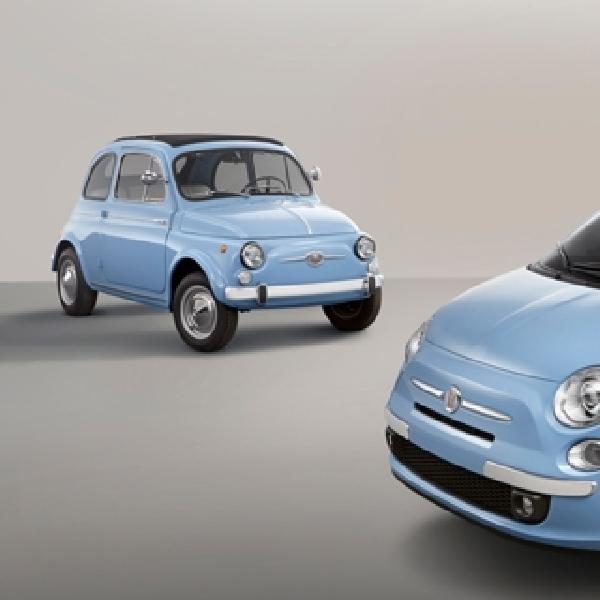 Fiat 500 1957 Edition Bawa Nuansa Klasik di IIMS 2015
