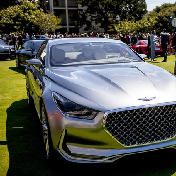 Hyundai Vision G Concept Coupe Mejeng di Pebble Beach