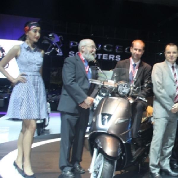 Peugeot Scooter Resmi Meluncur di Indonesia