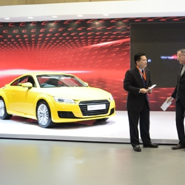 Audi Luncurkan Dua Model Baru di GIIAS 2015