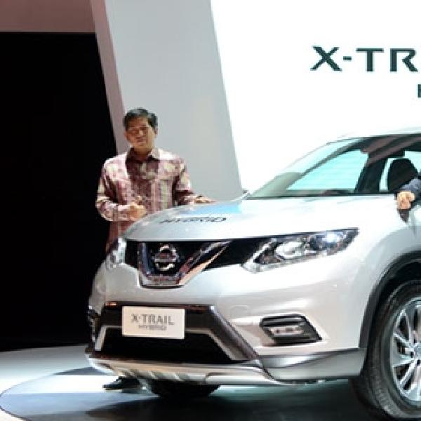 Nissan Meluncurkan New X-Trail Hybrid di GIIAS 2015