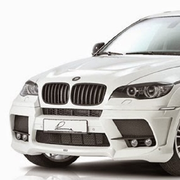 Modifikasi BMW X6 xDrive40d Karya LUMMA Design