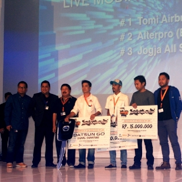 Ini Dia The Champion of Live Modz Show Off 2015 di GIIAS
