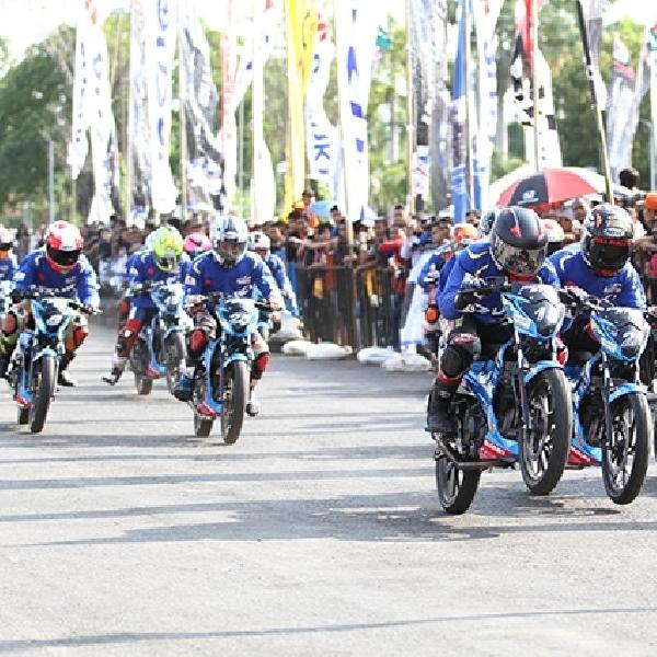 Pebalap Muda Kota Pahlawan Siap Berduel di Suzuki Indonesia Challenge