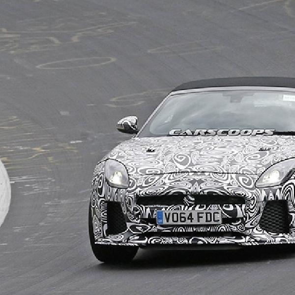 Jaguar F-Type SVR Bakal Hadirkan Versi Convertible