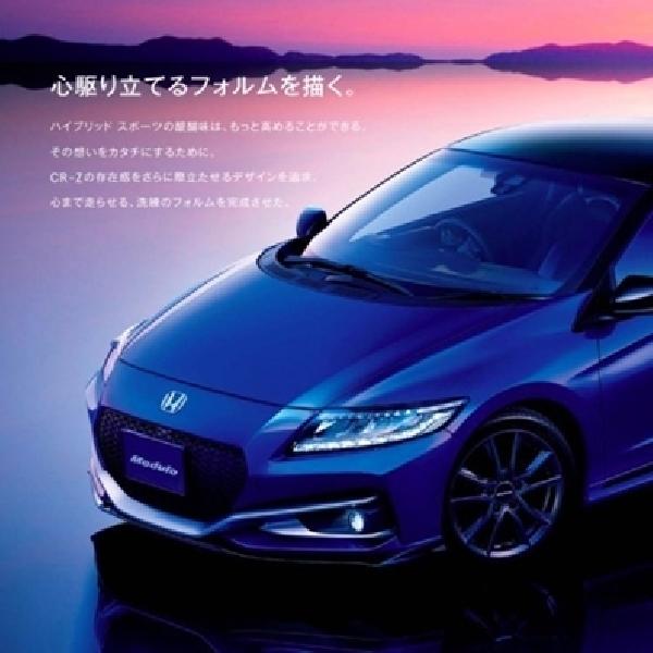 Honda CR-Z Facelift Modulo Jauh Lebih Stylish
