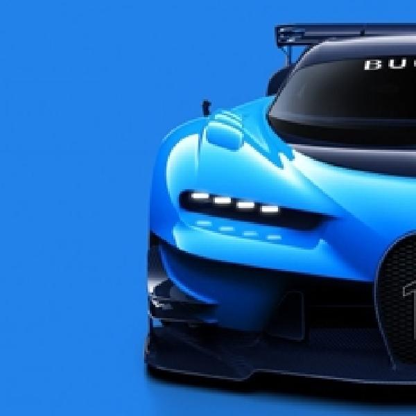 Bugatti Vision Gran Turismo dari Video Games Jadi Kenyataan