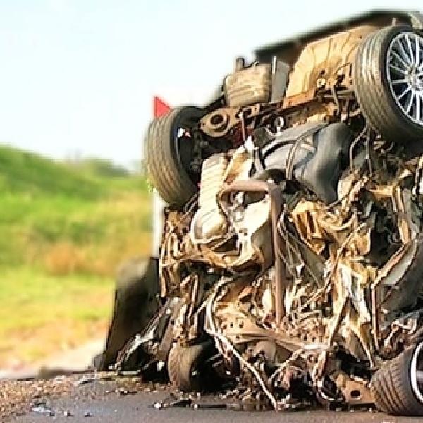 Ini Akibatnya Jika Ngebut Hingga 200 Km/Jam Lalu Kecelakaan