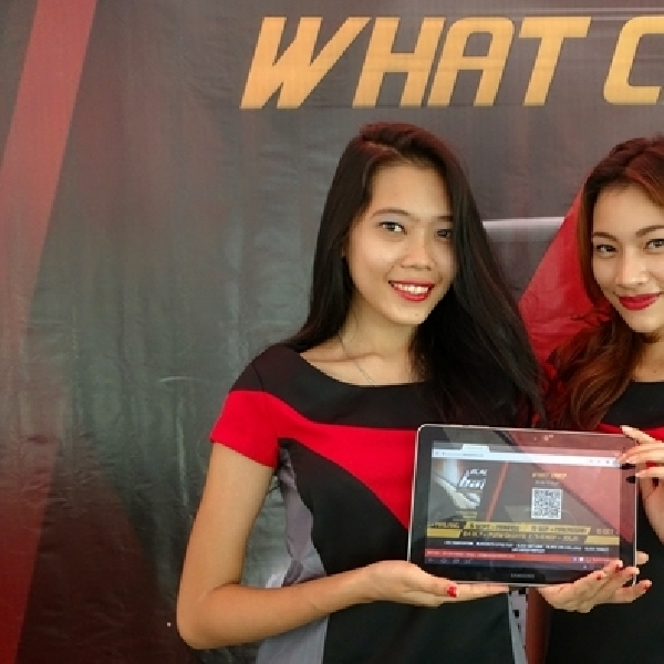 Seru, Game What Car? di BlackAuto Battle 2015 Manado