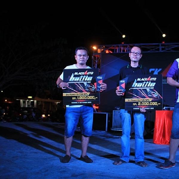 Ufi Kembali Rajai Fun SPL di BlackAuto Battle Manado