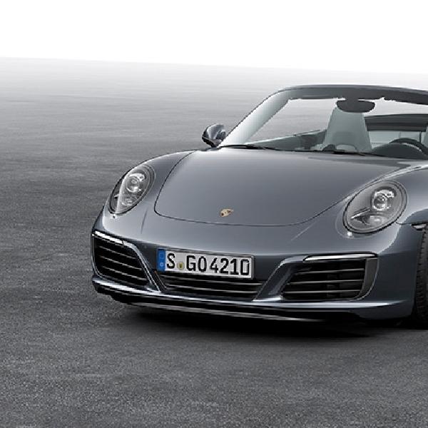 New Porsche 911 Carrera Tampil dengan Mesin dan Sasis Baru