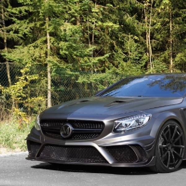 Mansory Eksplor Power Mesin Mercedes-benz AMG S63 Black Edition Coupe