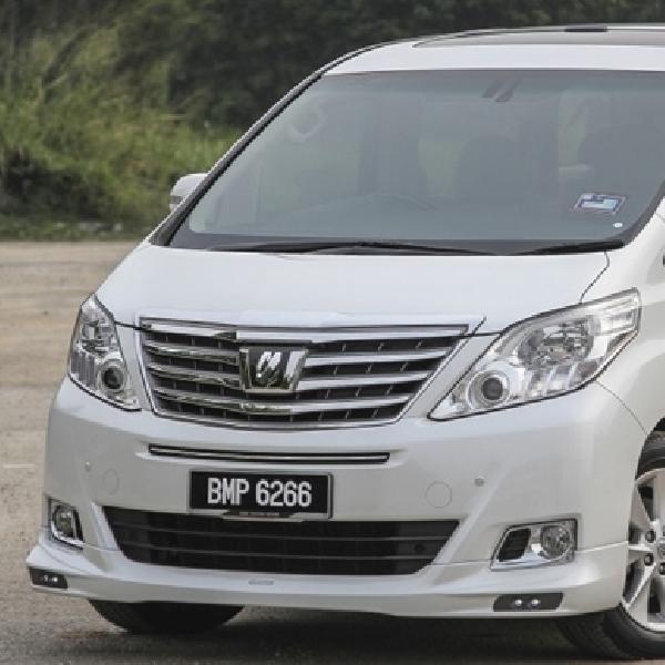 Toyota Alphard Pakai Aksesoris TRD Sportivo