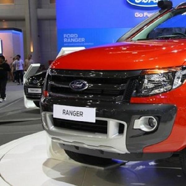 Ford Ranger Facelift Versi Eropa Mejeng di Frankfurt