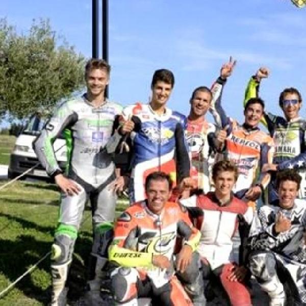 MotoGP: Bradley Smith Latihan Fisik di Rossi Ranch
