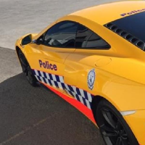 Polisi Australia Gunakan Mclaren 650S