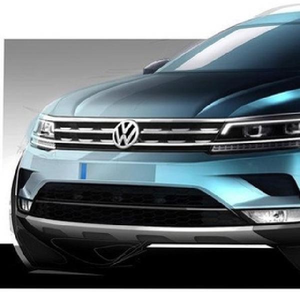 Volkswagen Mulai Pamer Sktesa Tiguan 2017