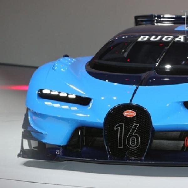 Bugatti Vision Gran Turismo Concept Tampil Gahar di Frankfurt Motor Show 2015