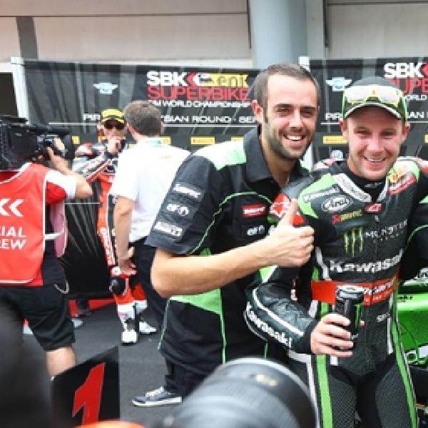 WSBK: Sykes Kuasai Race 1, Rea Sabet Gelar Juara Dunia