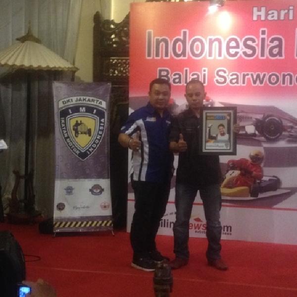 19 Pebalap Raih Penghargaan di Indonesia Racing Award 2015