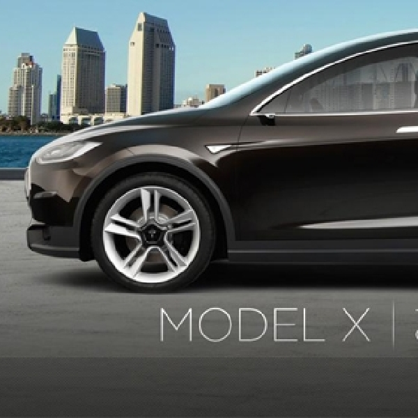 Tesla Model X, SUV Electric Berkekuatan Super