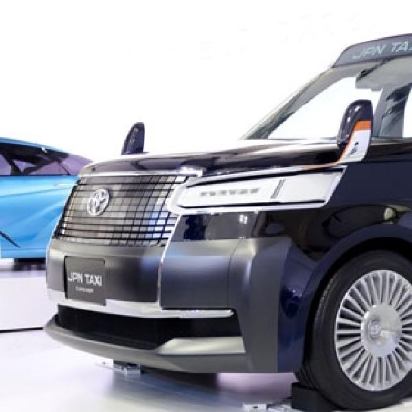 Taxi di Tokyo Akan Beralih ke Mobil Hybrid