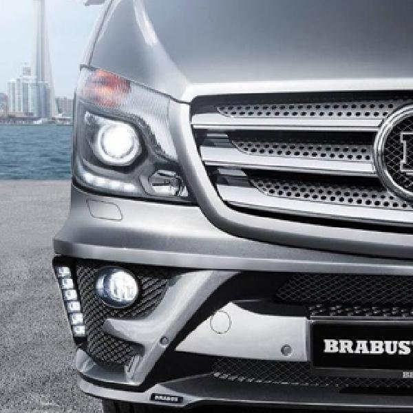 Brabus Bisnis Lounge  :  Kemewahan Mercedes Benz Sprinter Tersingkap