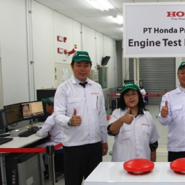 Honda Prospect Motor Resmikan Fasilitas Baru di Pabrik Karawang