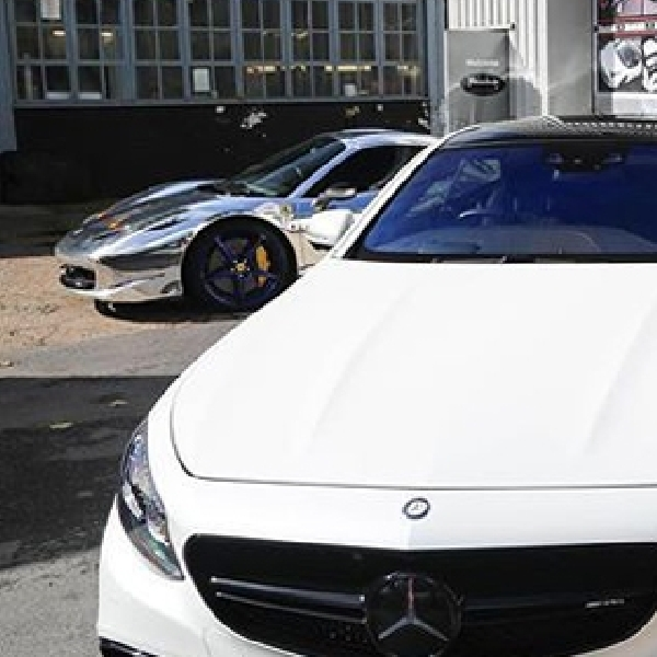 S63 AMG Coupe Bek Kanan Arsenal Officially Get Pimped