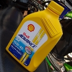 Shell Advance 4T AX5 Scooter Pelumas Khusus Skuter 4-Tak