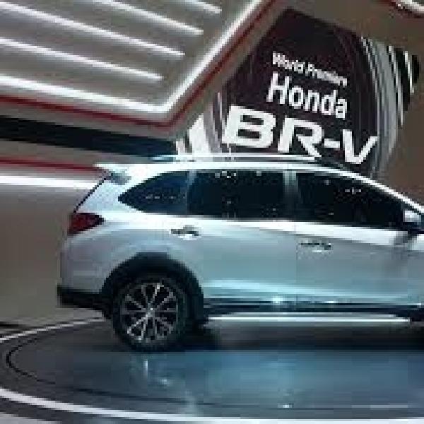 Honda BR-V Prototype Menuju Yogyakarta