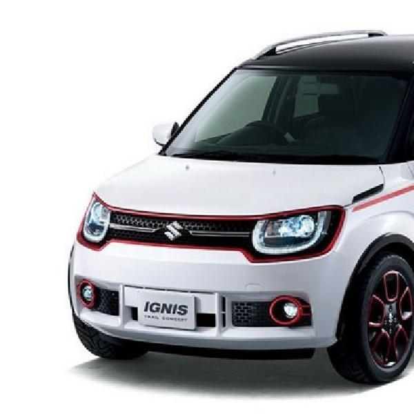 Suzuki Ignis-Trail Mendebut Akhir Bulan Ini