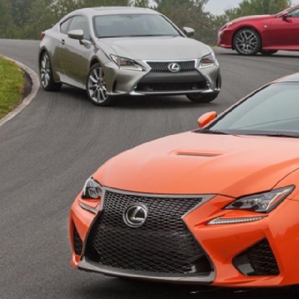 Lexus RC Coupe Terbaru Datang dengan 3 Varian