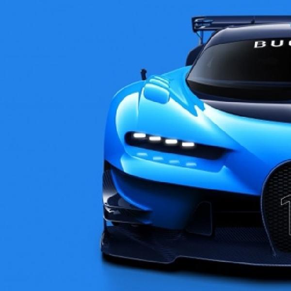 Seperti Ini Proses Terciptanya Bugatti Vision Gran Turismo