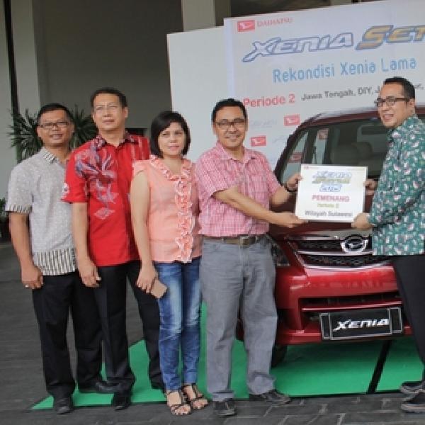 Daihatsu Kembali Pilih 8 Konsumen untuk Rekondisi Xenia Gratis