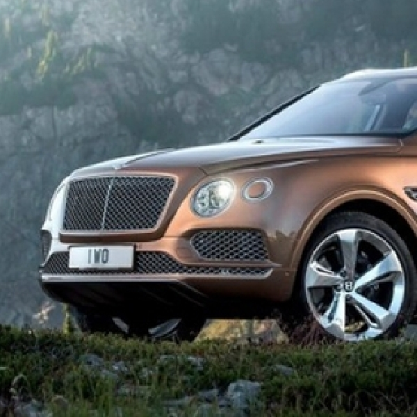 SUV Pertama Bentley Bentayga akan Diproduksi Hanya 3.600 Unit