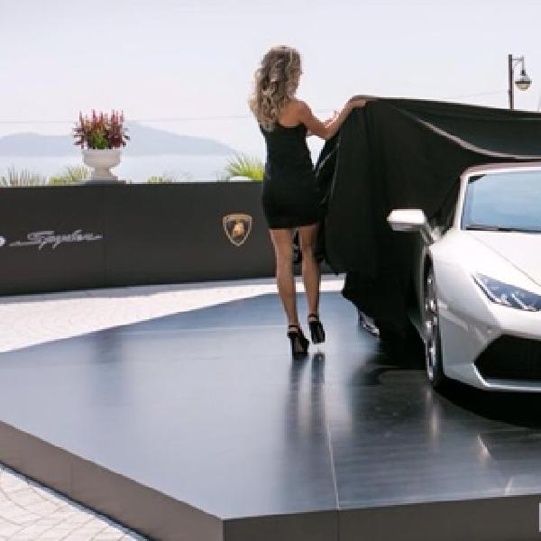 Tampil Perdana, Lamborghini Huracan Spyder Hadir di Hongkong