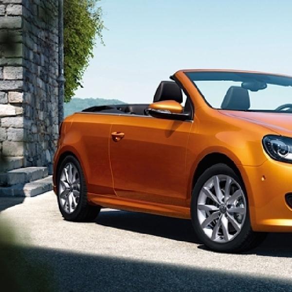 VW Golf Cabrio Datang Tahun Depan