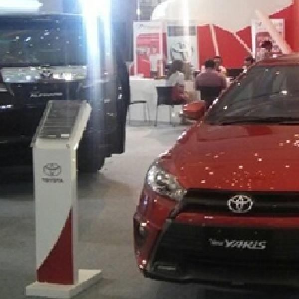 Toyota Pasang Target 50 Unit Perhari di JAS 2015