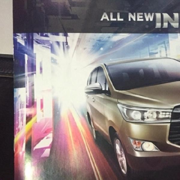 Ini Spesifikasi dan Harga Lengkap Toyota All New Kijang Innova