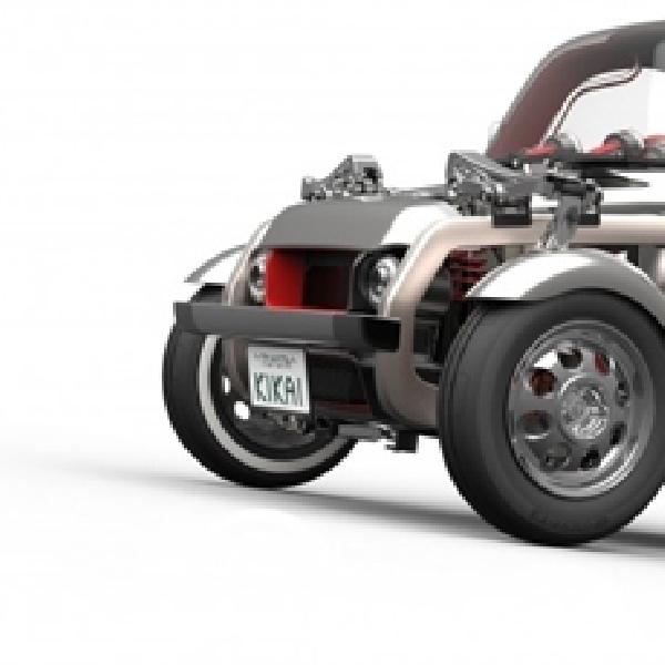 Toyota Kikai Concept - Ketika Sistem Mekanikal Dibiarkan Terbuka