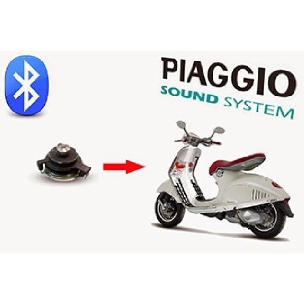 Piaggio Sound System, Hadirkan Hiburan Premium Sepanjang Jalan