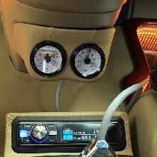 Processor Alpine PXA800 + RUX800, remote air suspension 9 channel, indikator tekanan udara