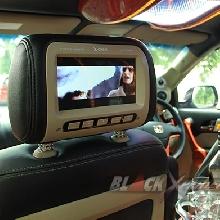 2 unit monitor headrest