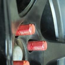 Baut roda menggungkan D1 Spec menambah komplit perpaduan warna modifikasinya