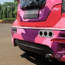 Bumper belakang full custom