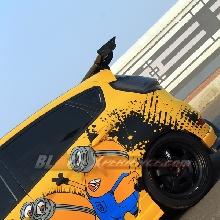 Tokoh kartun Minion mendasari modifikasi Ford Fiesta ini