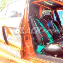 Jok Recaro dan seatbelt Takata