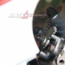 Peranti Super Kips dimatikan agar tidak ada hambatan pada exhaust