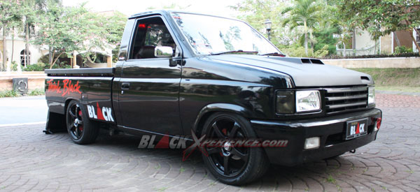 Dahsyatnya Raungan Suara Black Panther Pick Up